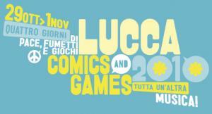 Il logo di Lucca Comics & Games 2010