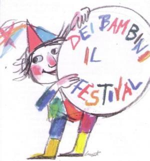 Il logo del festival, disegnato da Luzzati