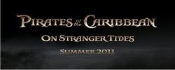 Primo logo dei Pirati dei Caraibi 4