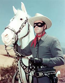 Clayton Moore, un Lone Ranger del passato