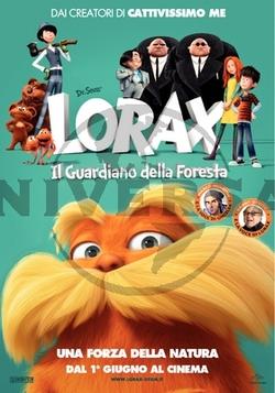 La locandina italiana di Lorax