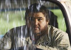 Jorge Garcia con la tuta della Dharma ai tempi di Lost