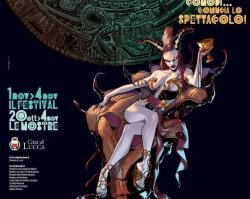 Il manifesto di Lucca Comics & Games 2012