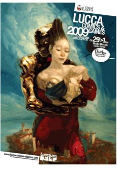 Uno dei promo poster di Lucca Comics & Games 2009