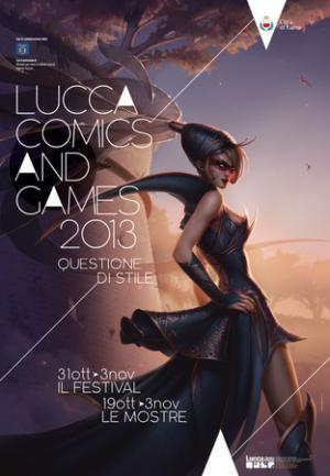 Il manifesto di Lucca Comics & Games 2013