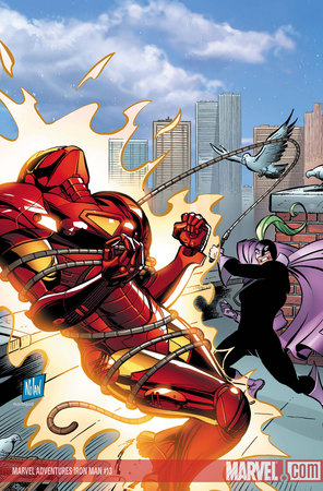 Uno spettacolare scontro tra Iron Man e Whiplash