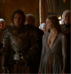 Finn Jones (Loras Tyrell) e Natalie Dormer (Margaery Tyrell)