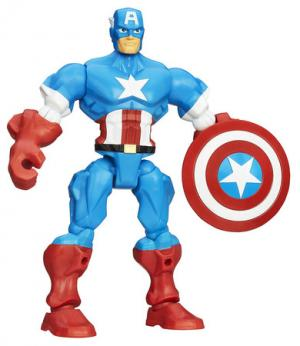 Super Heroes Mashers, Captain America