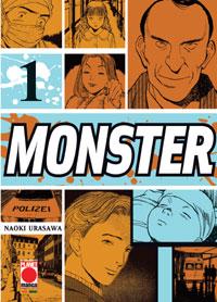 La copertina di Monster di Naoki Urasawa