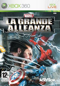 La copertina del gioco firmata in esclusiva per l'Italia da Gabriele Dell'Otto