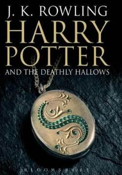 "La cover ""per adulti"" di Harry Potter and the Deathly Hallows, edito da Bloomsbury"