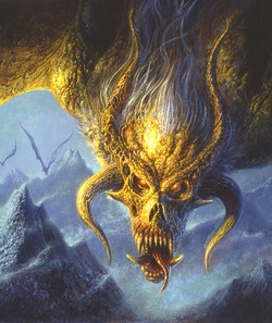 Necroscope Illustrated Cover - ©Bob Eggleton All Rights Reserved