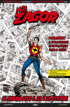 Noi, Zagor, Il poster