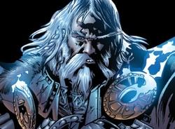 Una delle incarnazioni di Odino negli albi della Marvel