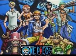 La ciurma di pirati protagonisti di Onepiece