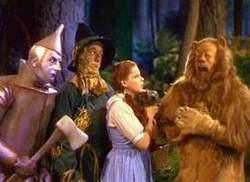 Un'immagine del classico Mago di Oz cinematografico