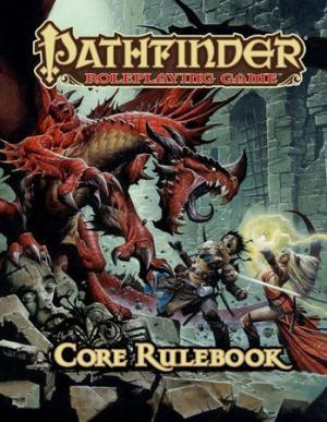 La copertina di Pathfinder RPG