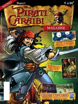 La cover del primo numero