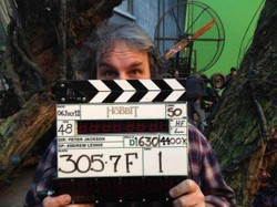 6 luglio 2012, ultimo take dello Hobbit
