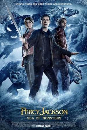 Percy Jackson e gli dei dell'Olimpo. Il Mare dei mostri. Teaser Poster