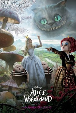 Il primo poster di Alice in Wonderland