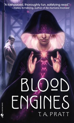 Blood Engines, il primo libro della serie che ha come protagonista Marla Mason