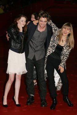 La regista e gli interpreti di Twilight, all'anteprima a Roma