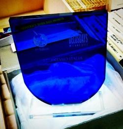 Il premio vinto da Franco Brambilla (foto Franco Brambilla)