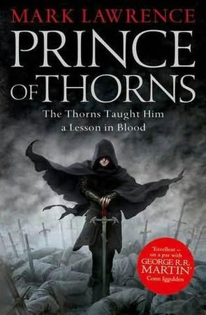 La copertina della versione originale di Il principe dei fulmini, in realtà Il principe di Spine.