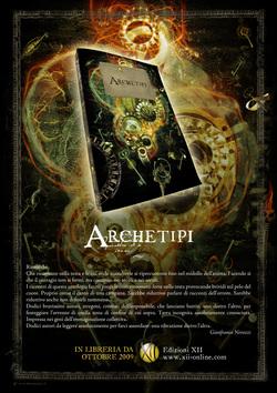La copertina di Archetipi