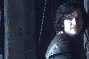 Kit Harington nella prima stagione di Game of Thrones.