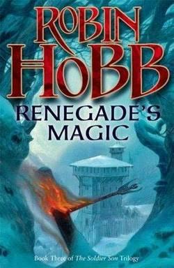 La copertina di Renegade's Magic, capitolo conclusivo della Soldier Son trilogy, pubblicato nel luglio del 2007