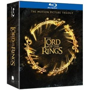 Il cofanetto della versione Blu-ray della trilogia di Peter Jackson