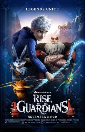 nuovo poster di Rise of the Guardians, in uscita il prossimo 21 novembre