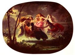 The Fairy Dance di Robert Alexander Hillingford