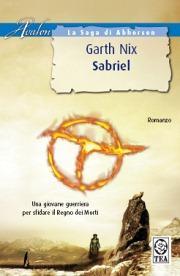 La copertina di Sabriel, in edizione Tea