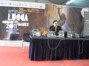 Emanuele Manco presenta Effemme a Lucca Comics & Games 2011