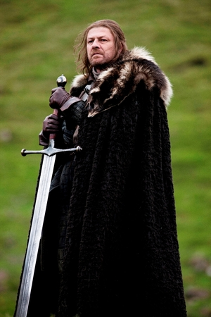 Sean Bean nei panni di Eddard Stark