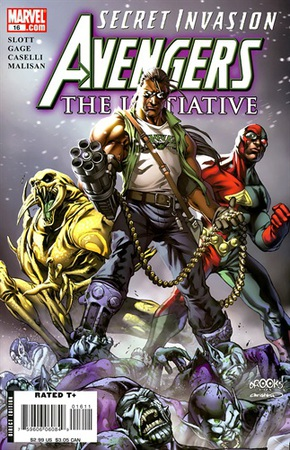 Secret Invasion Avengers Initiative
