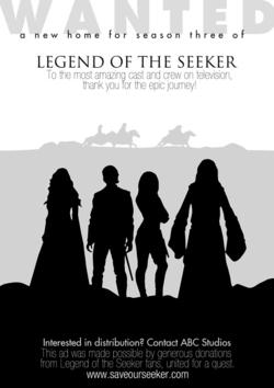 Salvate Legend of the Seeker: l'annuncio comparso su Variety
