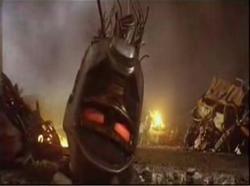 Un'immagine tratta dal filmato presentato da Hugh Jackman: la testa