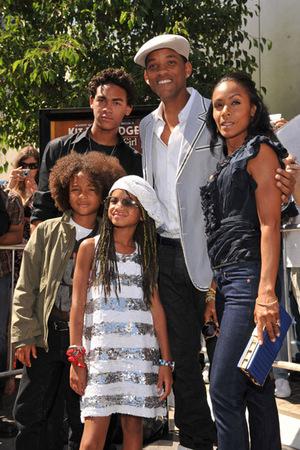 La potente Will Smith's Family