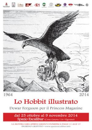 Lo Hobbit Illustrato - Manifesto