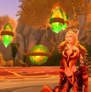 Una bella elfa del sangue