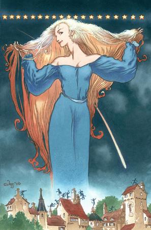 La copertina disegnata da Charles Vess