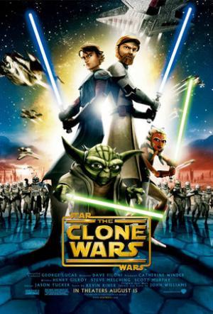 Col secondo trailer di Clone Wars arriva anche un bel poster