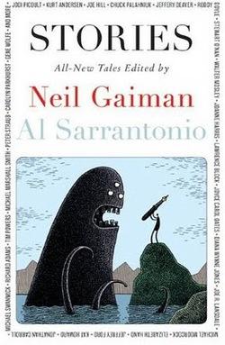 La copertina della nuova antologia curata da Neil Gaiman