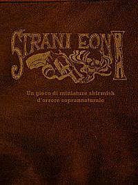 La copertina provvisoria di Strani Eoni