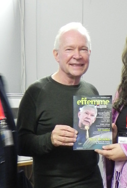Terry Brooks con Effemme 2