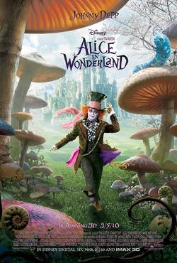 Il terzo poster di Alice in Wonderland